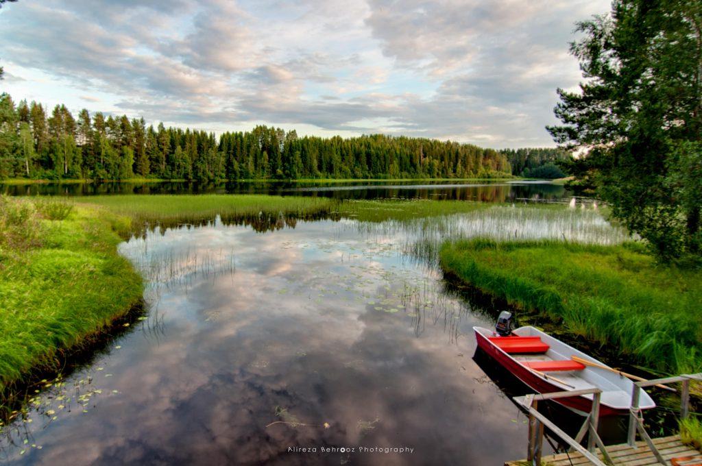 Stödesjön Lake