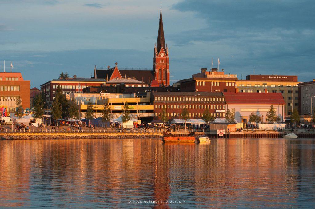 Luleå at Golden Hour