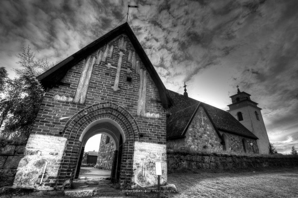 Luleå old town church