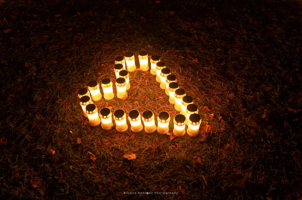 Candle Heart!