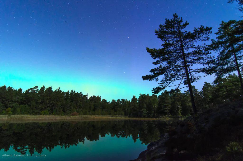 Northern Light at Stockholm