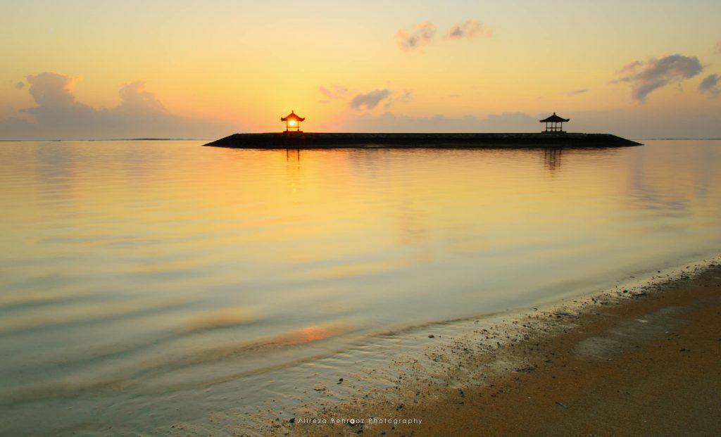 Color of sunrise