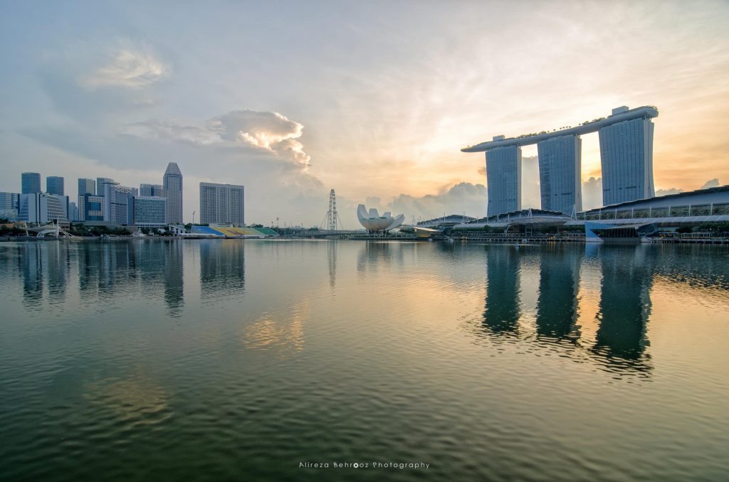 Sunrise @ Marina Bay, Singapore