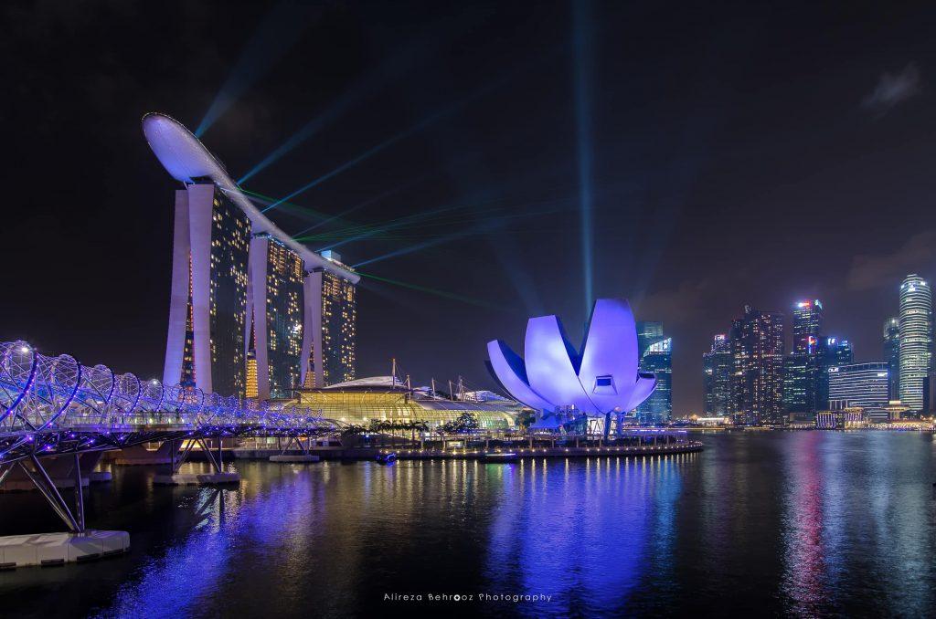 Singapore lasershow