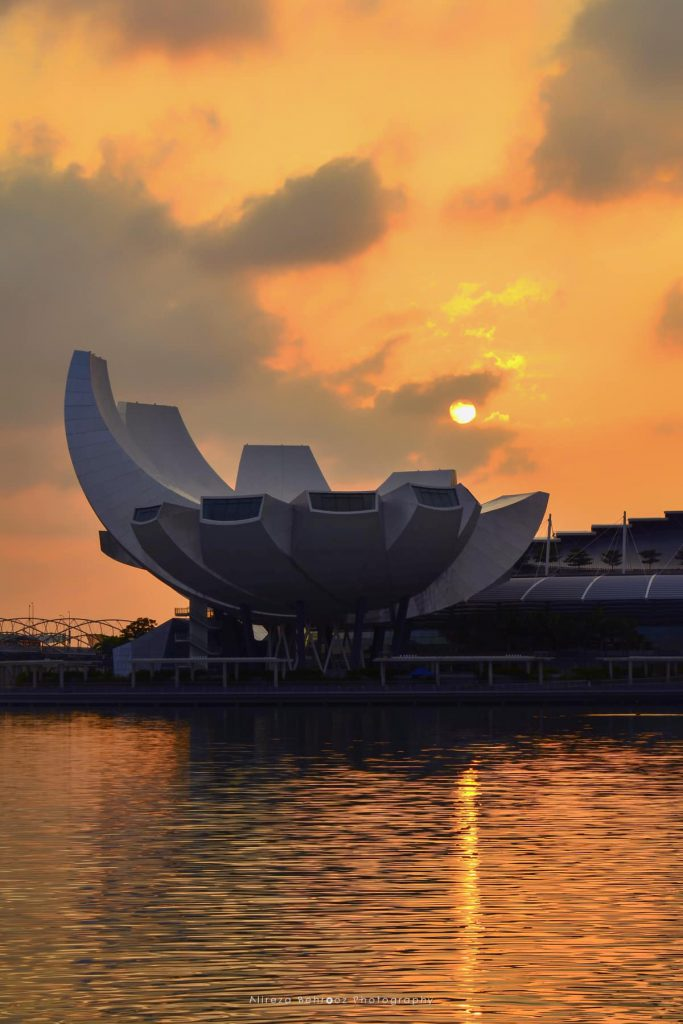 Sunrise @ Artscience Museum, Singapore