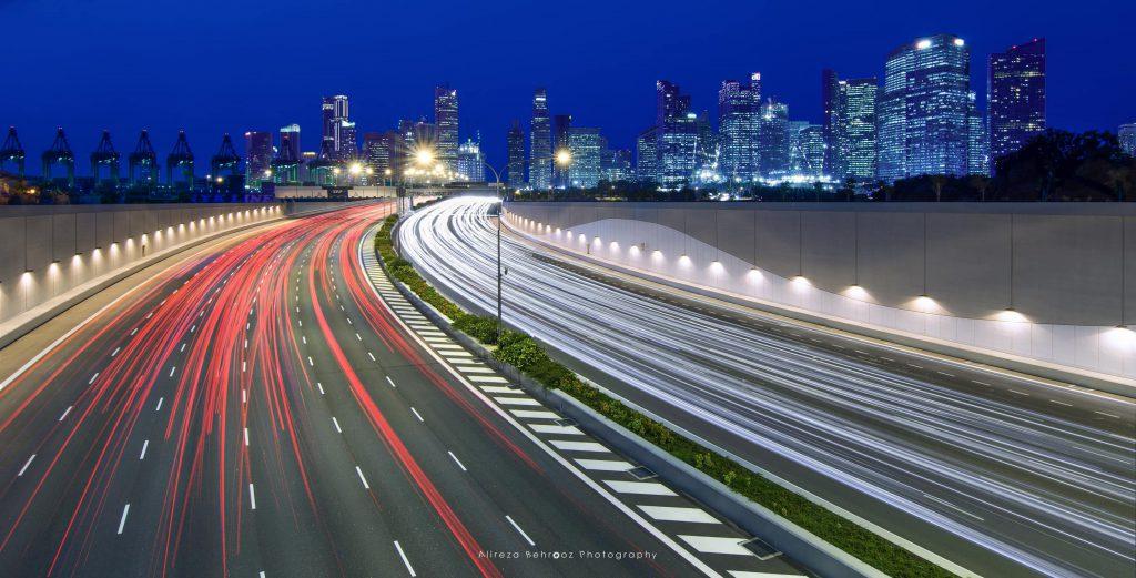 Marina Coastal Expressway, Singapore