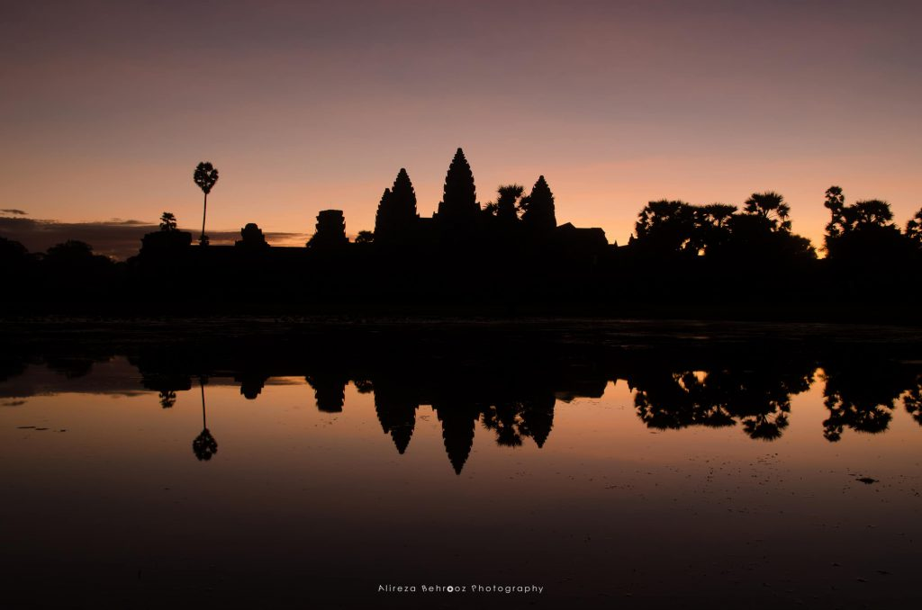 Angkor Wat Silhouette
