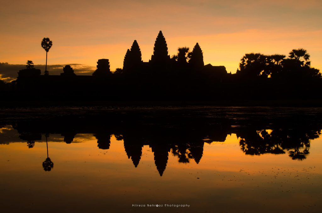 Angkor Wat Silhouette II