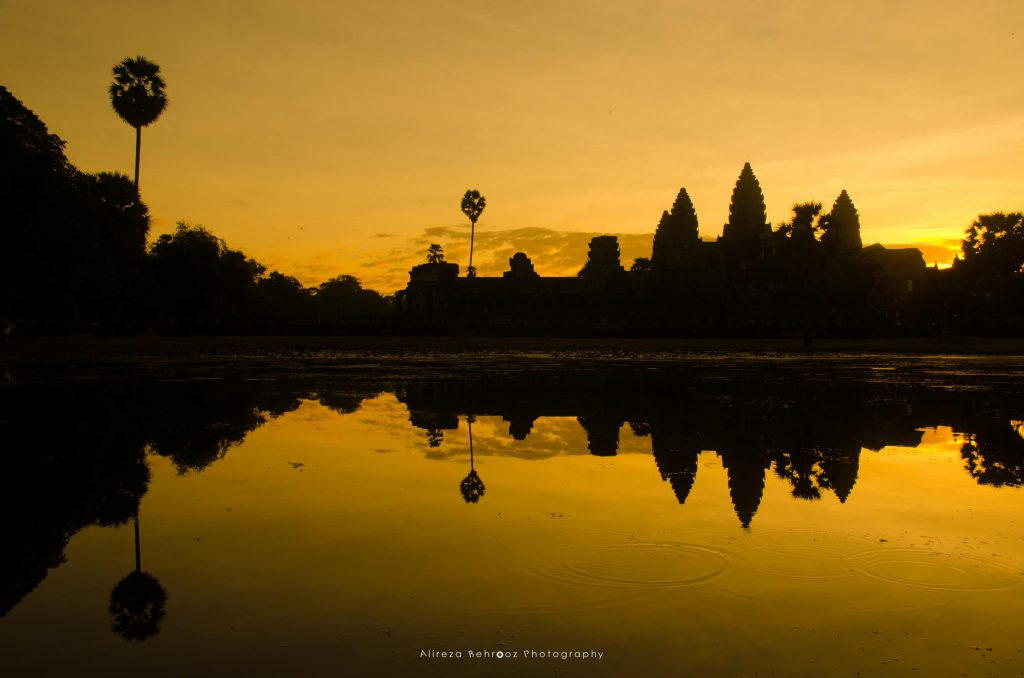 Angkor Wat Silhouette III