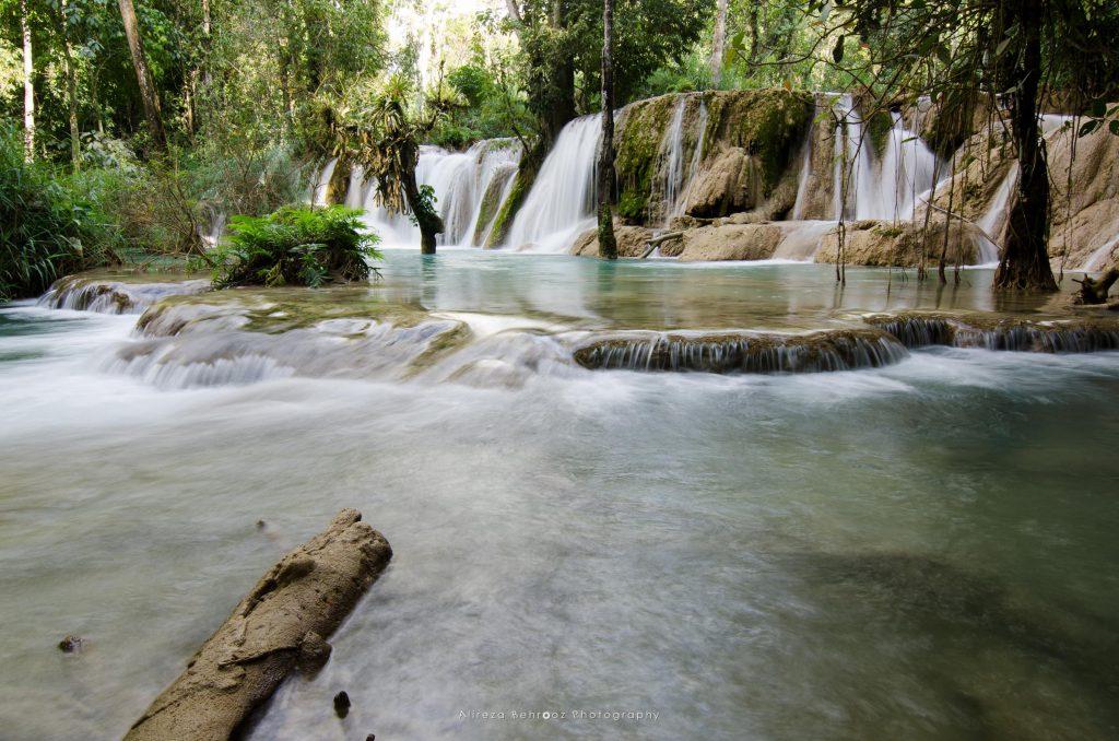 Tad Sae Waterfalls, Luang Prabang, Laos.