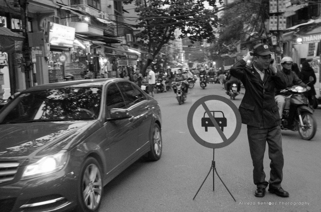 Cars forbidden!