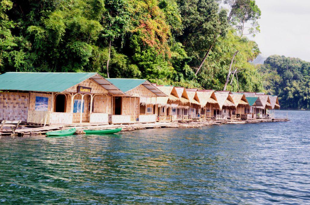 Floating bungalows, Tam Gia, Khao Sok national park