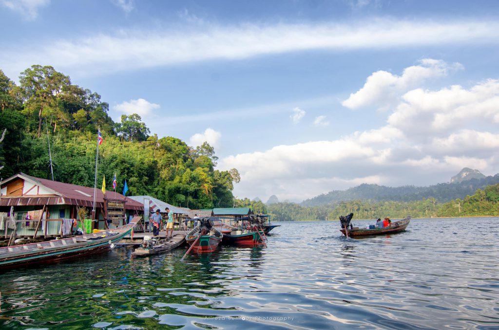 Tam Gia Raft House On Cheow En Lake