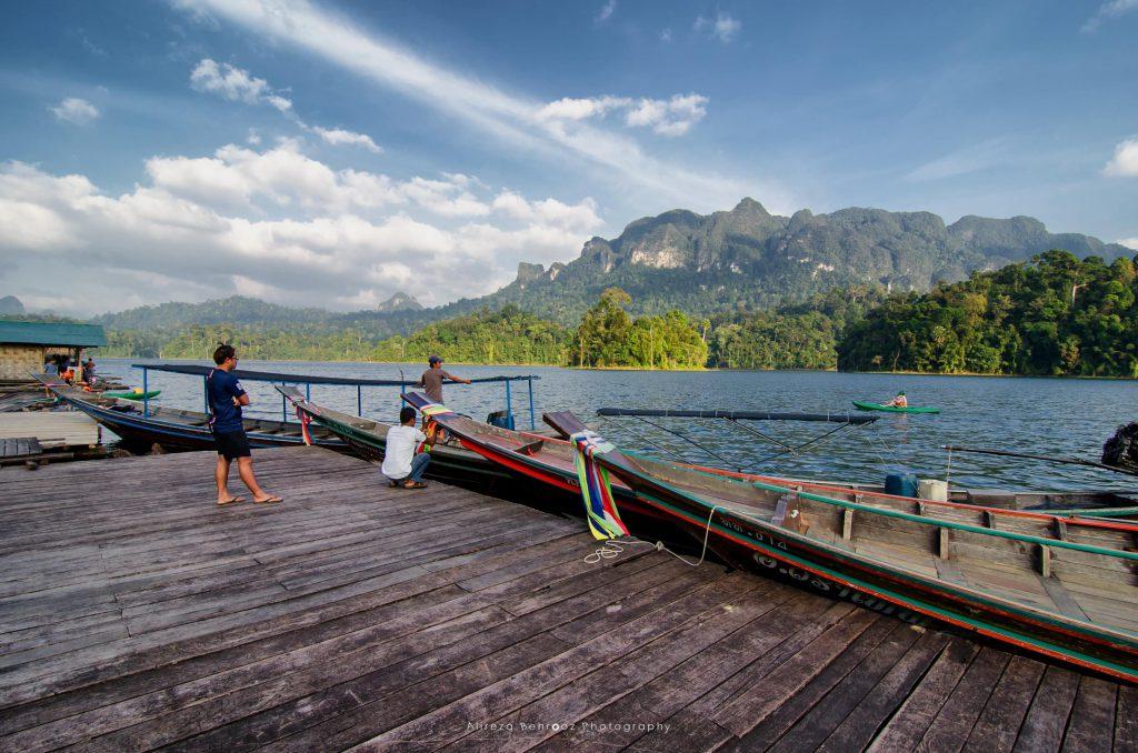 Tam Gia raft house, Khao Sok national park, Thailand