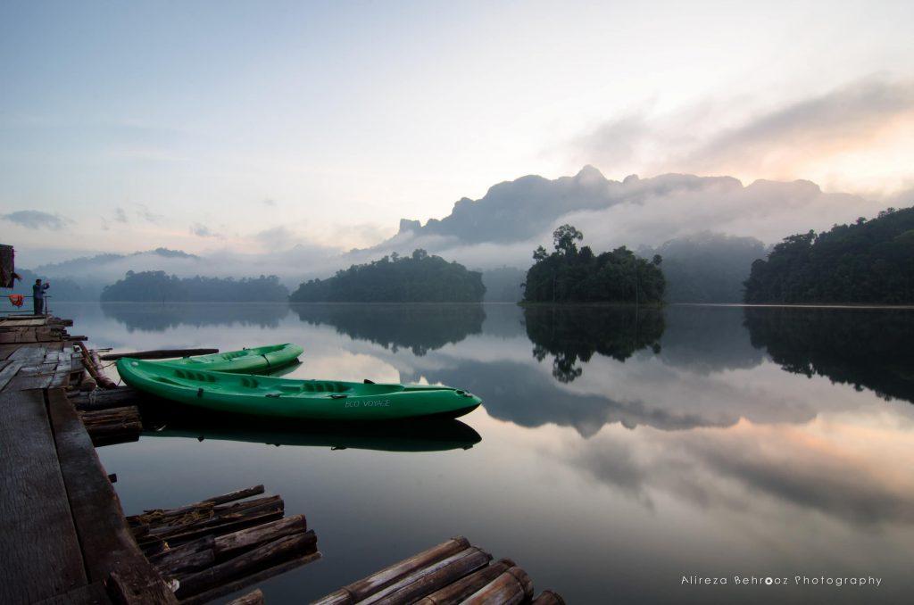 Before sunrise, Khao Sok national park, Thailand