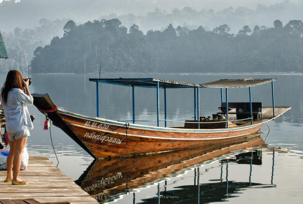 Longtail boat, Khao Sok national park, Thailand