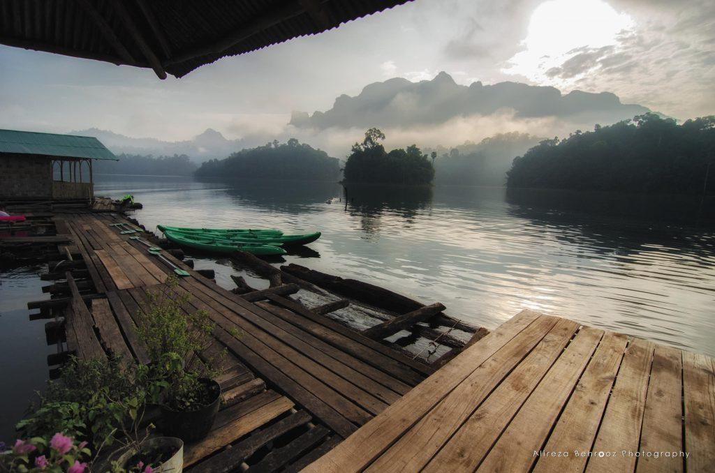 Sunrise, Khao Sok national park, Thailand