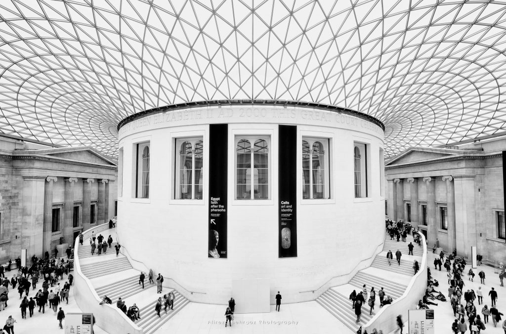 Great Court at the British Museum in London