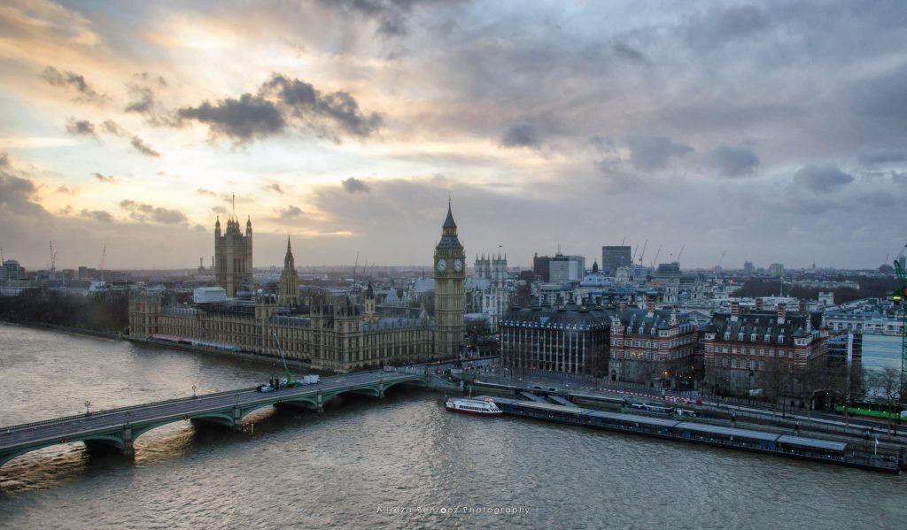 London view from London Eye!