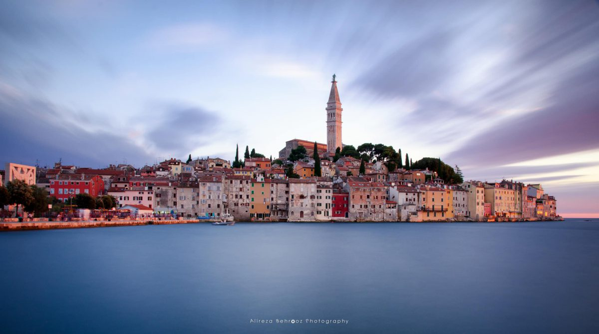 Beautiful town of Rovinj, Istria, Croatia