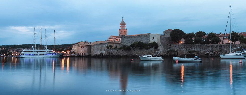 Krk town, Croatia