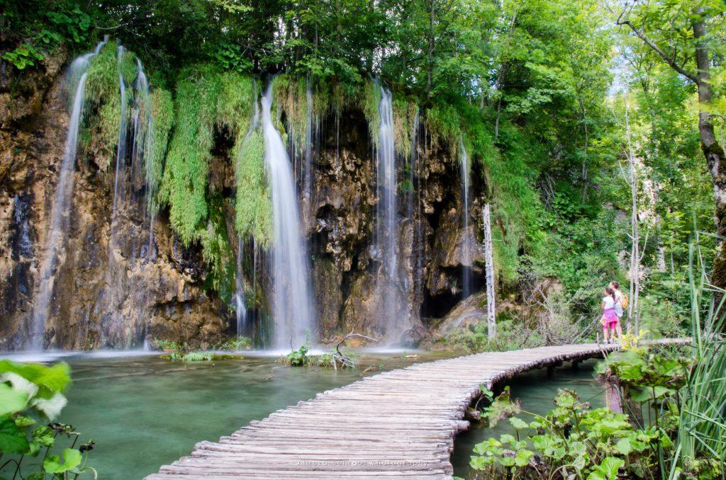 Galovacki buk falls and area at Plitvice Lakes (Plitvicka Jezera