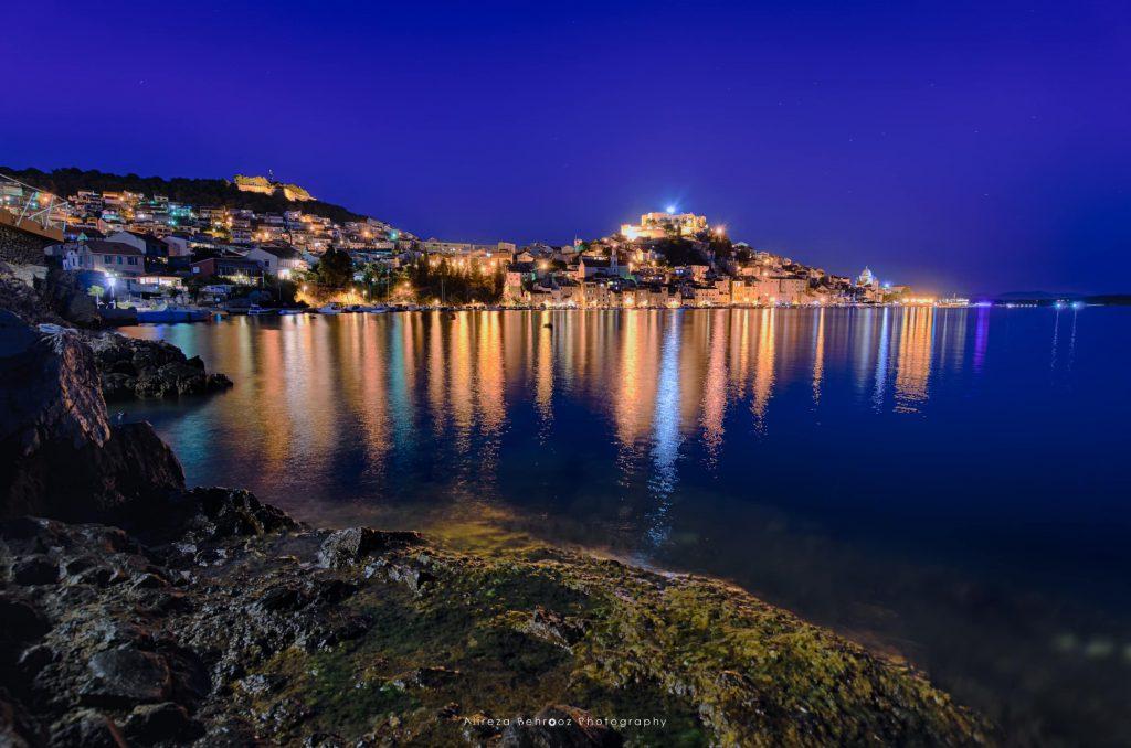 City of Sibenik, Adriatic coast, Croatia