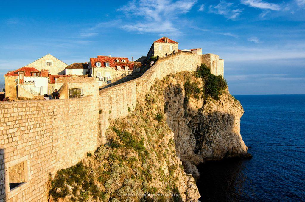 Old City Wall at Dubrovnik, Croatia