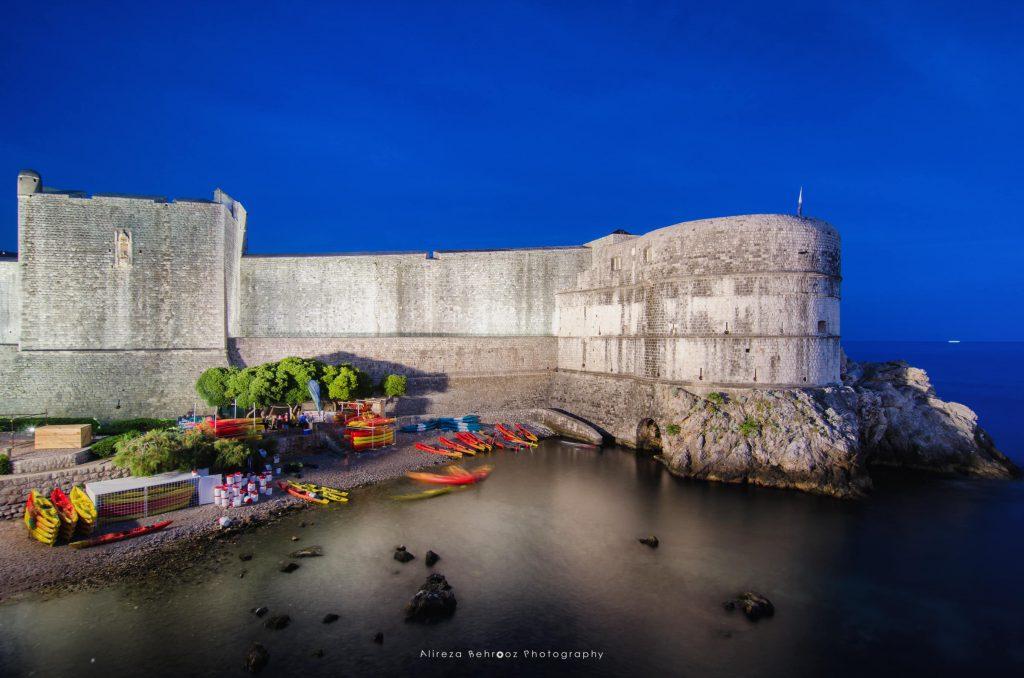 Outside city walls, Dubrovnik, Croatia