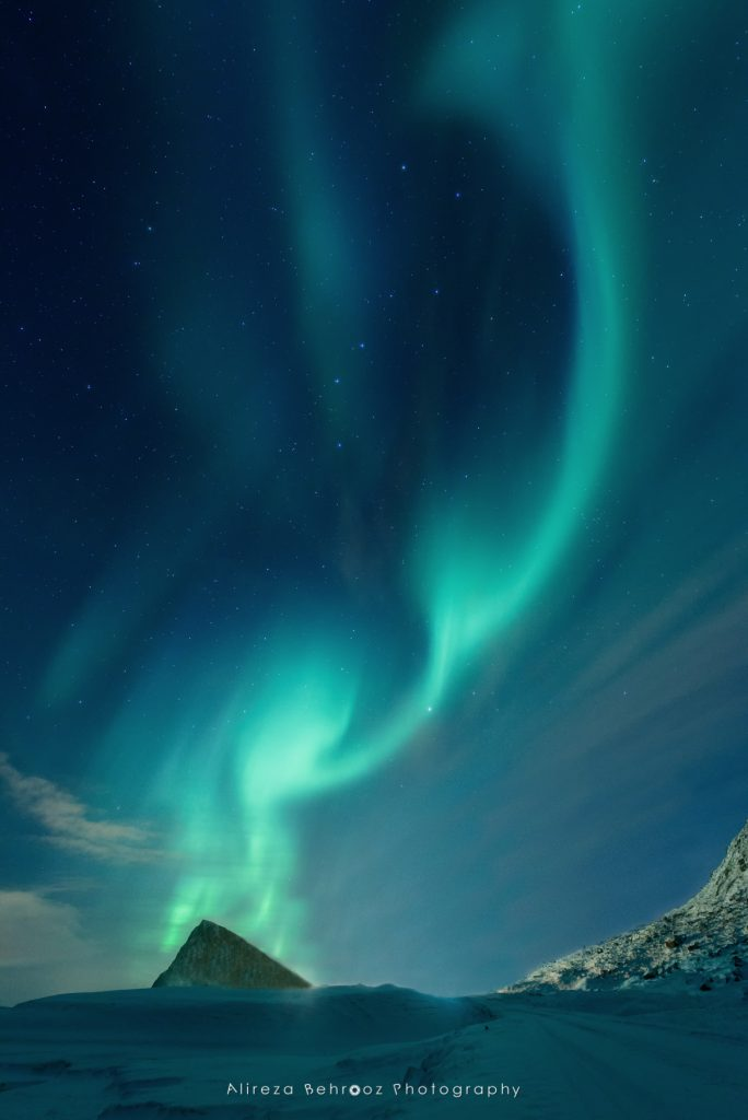 Nortern lights, Lofoten