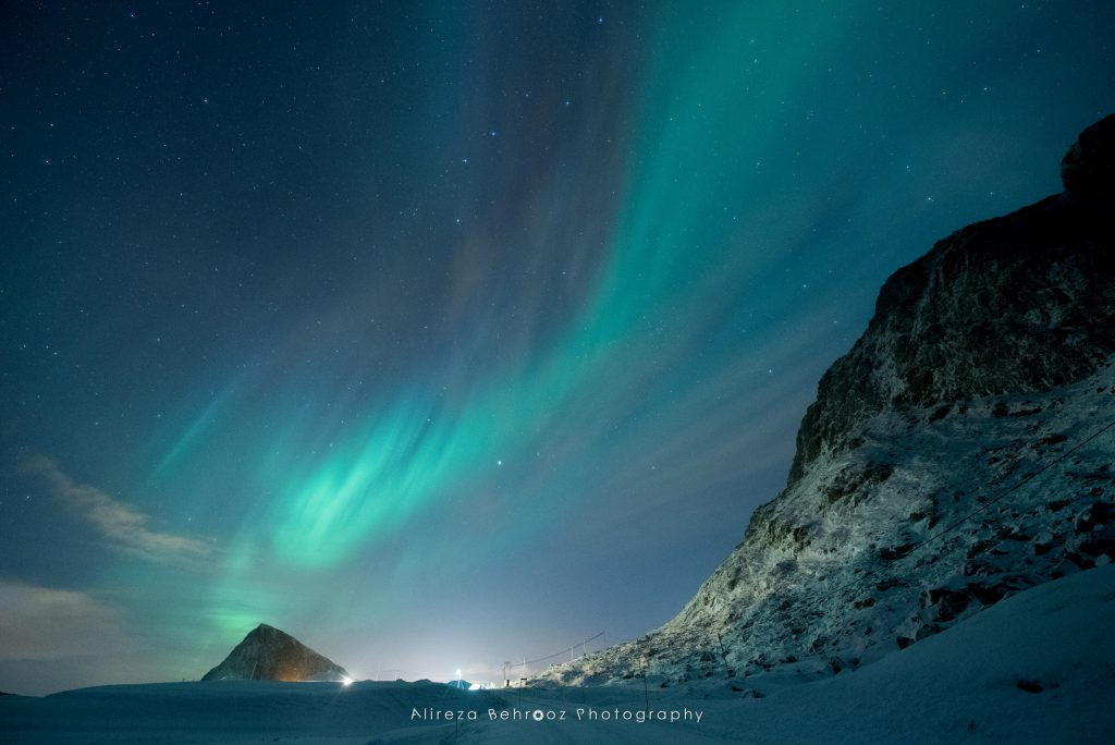 Polar lights, Lofoten